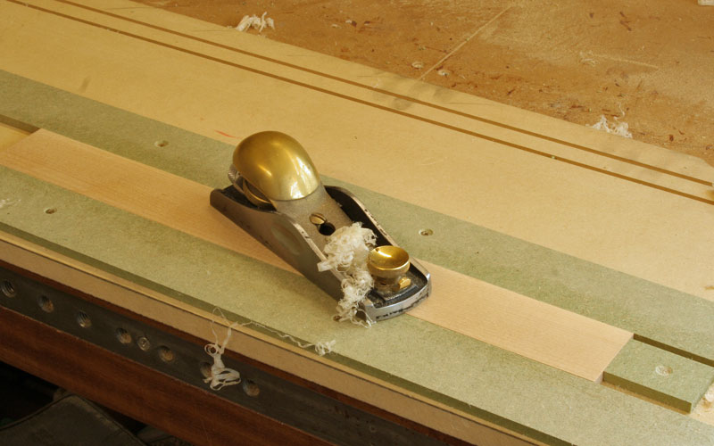 planing drawer sides