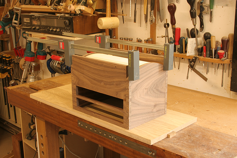 box glue up