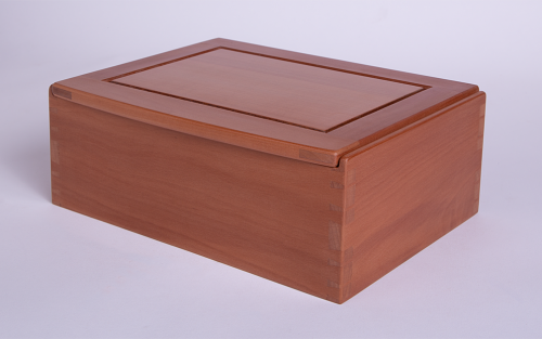 Pearwood jewellery box